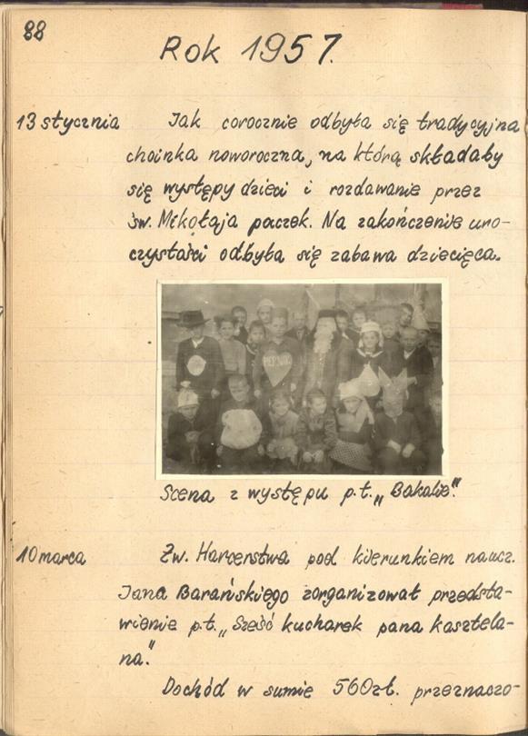 Labiryntarium Kronika Szkoły Podstawowej W Kalnie W Latach